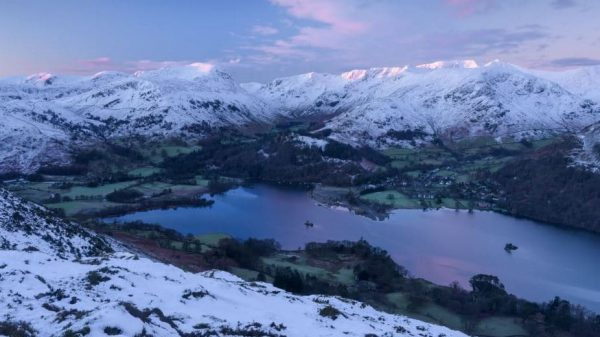 Time Lapse Lake District Hiver