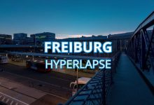 Photo of Hyperlapse sur la ville allemande de Fribourg-en-Brisgau