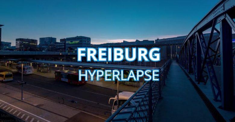 Photo of Hyperlapse sur la ville allemande de Fribourg-en-Brisgau