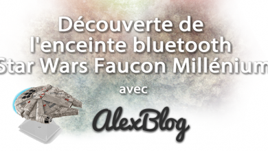 Photo of Découverte de l'enceinte bluetooth Star Wars Faucon Millénium