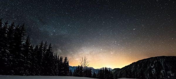 Dolomites Hiver Time Lapse