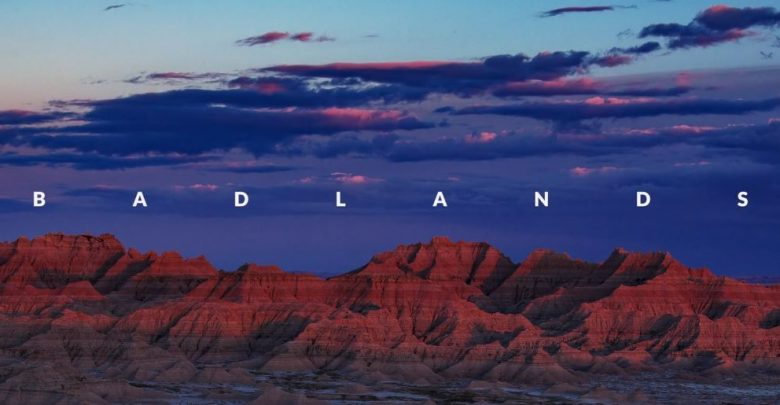 Parc National Badlands Time Lapse 8k