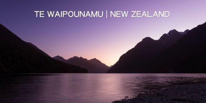 Time Lapse Decouverte Te Wahipounamu Nouvelle Zelande