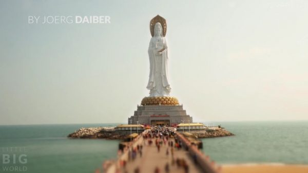 Time Lapse Miniature Ile Hainan