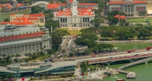 Voyage à Singapour dans un time lapse original