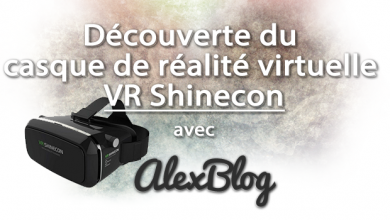Photo of Découverte du casque de réalité virtuelle VR Shinecon