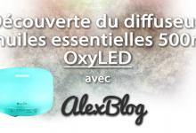 Photo of Découverte du diffuseur d'huiles essentielles OxyLED 500ml