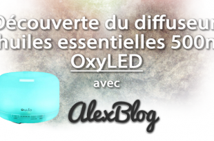 Decouverte Diffuseur OxyLED 500ml