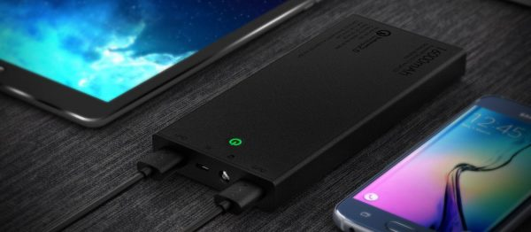 Decouverte Batterie Externe 16000mah Quick Charge Aukey (4)