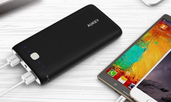Decouverte Batterie Externe 20000 Mah 2 Usb Aukey (6)