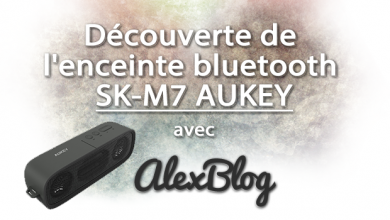 Photo of Découverte de l'enceinte bluetooth SK-M7 AUKEY