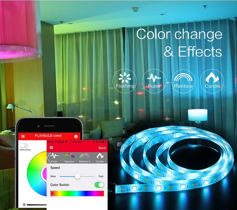 d couverte de la lumi re d 39 ambiance mipow playbulb comet. Black Bedroom Furniture Sets. Home Design Ideas