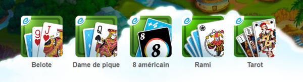 Exoty Jeux Internet Liste