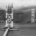 Photographies Pont Golden Gate Construction 1933 1937 1