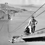 Photographies Pont Golden Gate Construction 1933 1937 14