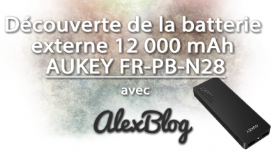 Photo of Découverte de la batterie externe 12 000 mAh AUKEY FR-PB-N28