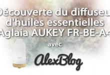 Photo of Découverte du diffuseur d'huiles essentielles Aglaia AUKEY FR-BE-A4