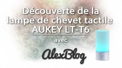 Photo of Découverte de la lampe de chevet tactile AUKEY LT-T6