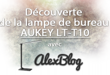 Photo of Découverte de la lampe de bureau AUKEY LT-T10
