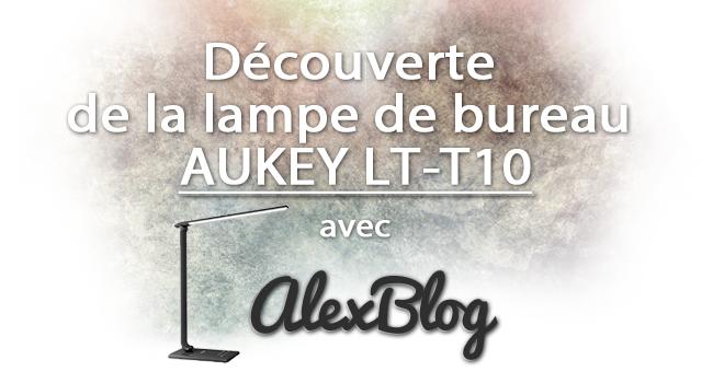 Decouverte Lampe Bureau Aukey Lt T10