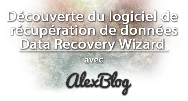 Logiciel Data Recovery Wizard Test