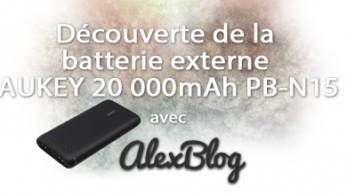 Photo of Découverte de la batterie externe AUKEY 20 000mAh PB-N15