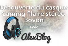 Photo of Découverte du casque Gaming filaire stéréo Bovon