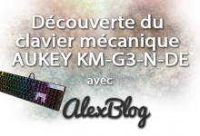 Photo of Découverte du clavier mécanique AUKEY KM-G3-N-DE