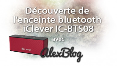 Photo of Découverte de l'enceinte bluetooth iClever IC-BTS08