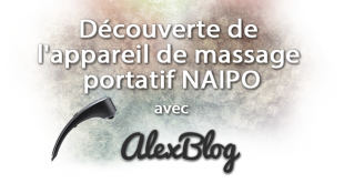 Decouverte Appareil Massage Portatif Naipo