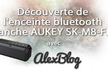 Photo of Découverte de l'enceinte bluetooth étanche tous terrains AUKEY SK-M8-FRA