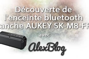 Decouverte Enceinte Bluetooth Etanche Aukey Sk M8 Fra