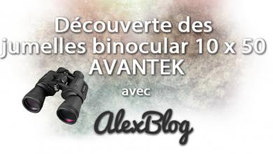 Photo of Découverte des jumelles binocular 10 x 50 AVANTEK