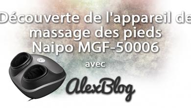 Photo of Découverte de l'appareil de massage des pieds Shiatsu NAIPO MGF-50006