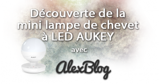 Decouverte Mini Lampe Chevet Led Aukey