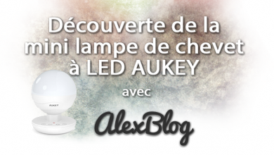 Photo of Découverte de la mini lampe de chevet à LED AUKEY LT-ST10