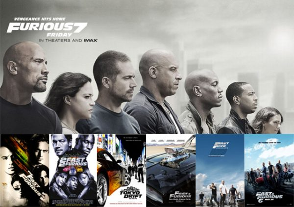 Filmographie Fast And Furious