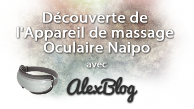 Photo of Découverte de l'appareil de massage oculaire Naipo