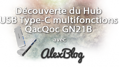 Photo of Découverte du Hub USB Type-C multifonctions QacQoc GN21B