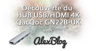 Decouverte Hub Usb Hdmi 4k Qacqoc Gn22b Uk