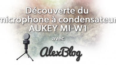 Photo of Découverte du microphone à condensateur AUKEY MI-W1