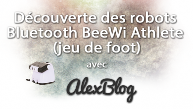 Photo of Découverte des robots Bluetooth BeeWi Athlete (jeu de foot)