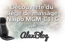 Decouverte Siege Massage Naipo Mgm C11c