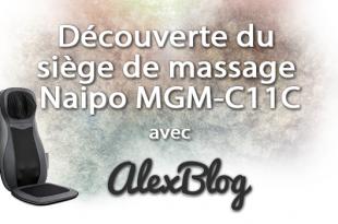Decouverte Siege Massage Naipo Mgm C11c