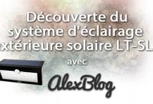 Photo of Découverte du système d'éclairage extérieure solaire de 36 LED AUKEY LT-SL1