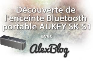 Aukey Enceinte Bluetooth Portable Haut Parleur Sans Fil