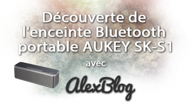 Photo of Découverte de l'enceinte Bluetooth portable AUKEY SK-S1