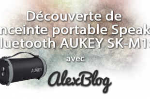 Aukey Enceinte Portable Wireless Speaker Bluetooth
