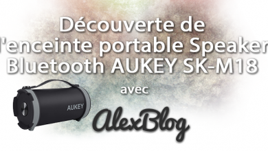 Photo of Découverte de l'enceinte portable Speaker Bluetooth AUKEY SK-M18