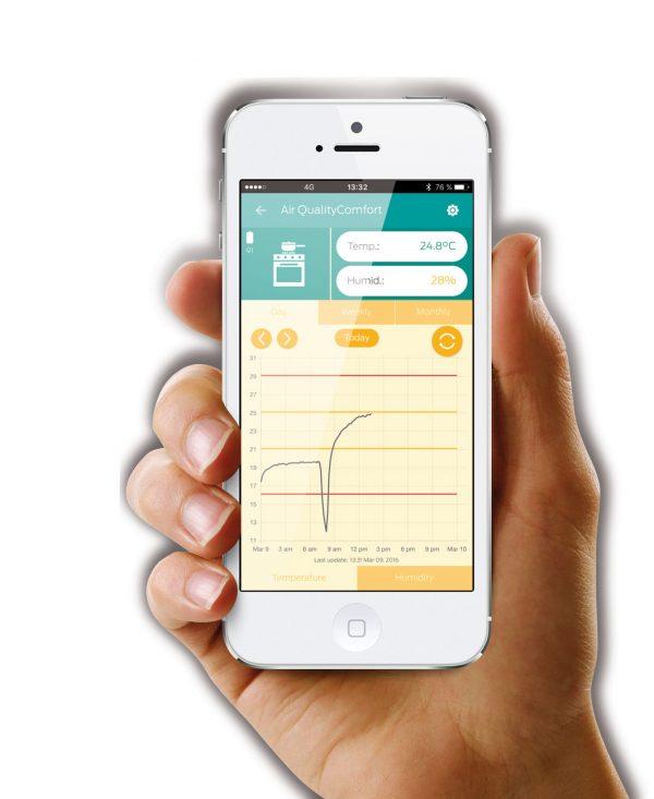 Capteur Moniteur Ksix Clima Smart Temperature Humidite (2)